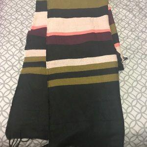 H&M Color Block Scarf