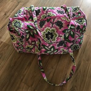 Like New Vera Bradley Travel Tote