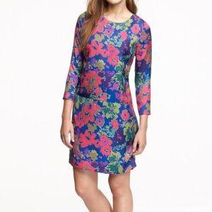 NWT Silk Jules Ashbury Floral Dress, Sz 12