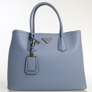 Sapiano Cuir Medium Tote with Leather Strap Bag