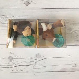 Other - WubbaNub - Monkey and Longhorn