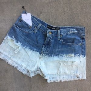 Big Star Acid Wash Denim Shorts