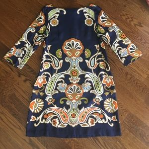 J Crew Collection Silk Print Jules Style Dress, 10