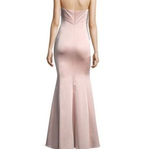 Zac Posen Malena Strapless Trumpet Evening Gown