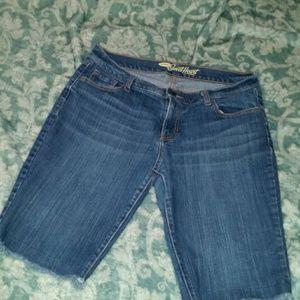 Ladies Bermuda shorts