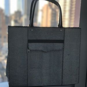 Rebecca Minkoff M.A.B Medium Saffiano Leather Tote