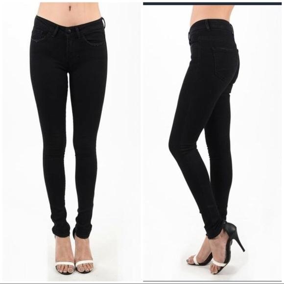 Nine Planet Denim - Nine Planet Black Denim Skinny Jeans