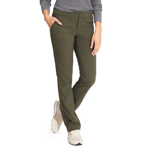 Athleta Ancient Green Wander pants
