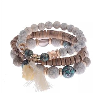 Jewelry - Bohemian 3 piece bracelet set