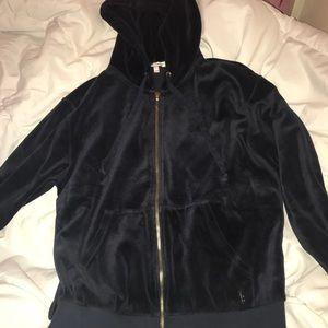 Navy Juicy couture hoodie