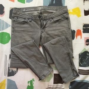 Ann Taylor LOFT Grey Denim Jeans