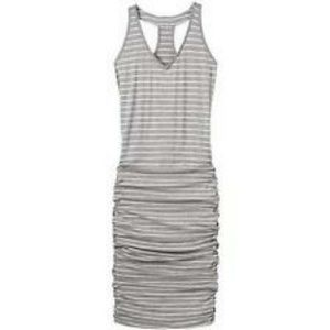 Athleta Womens Striped Tee Racerback Dress