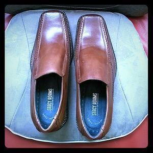 Host Pick 🎁Sale Stacy Adams Cognac Slips-on Shoes