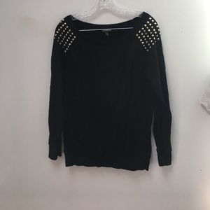 Express studded sweater