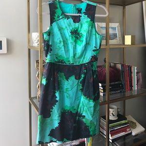 J. Crew Bold Print Dress