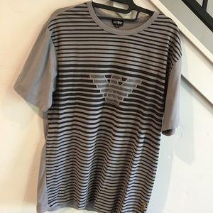 Armani Jeans grey shirt