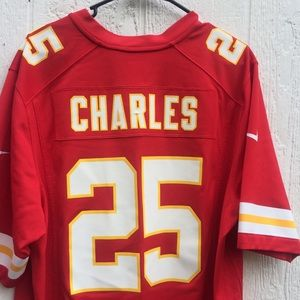 Limited Edition Jamaal Charles chiefs jersey