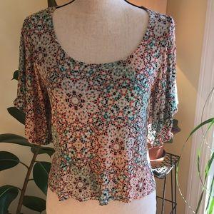 American Rag pretty boho blouse!
