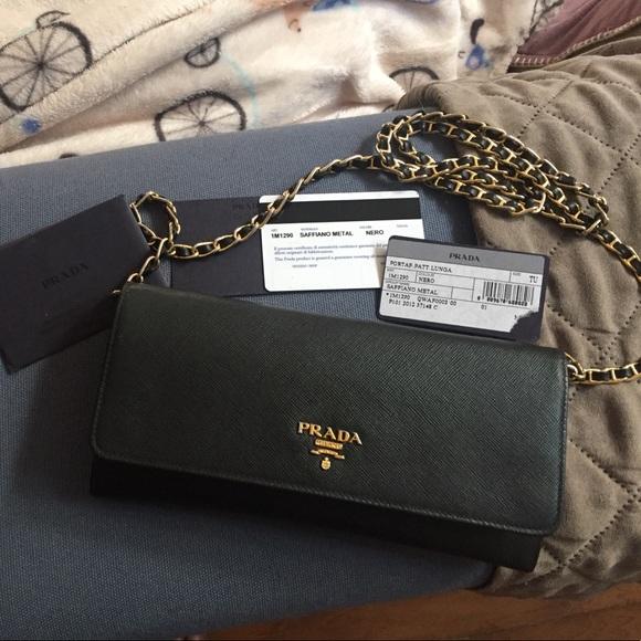 911efc94742e Prada Bags | Sold Authentic Woc In Black | Poshmark