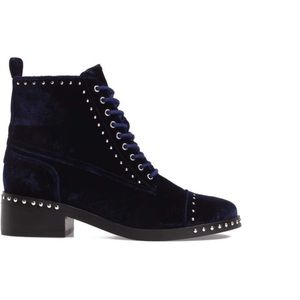 Blue Velvet Marc Fisher Boots