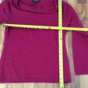 Cynthia Rowley Tops - Women's Large 💯 Merino Wool Magenta Sweater Top