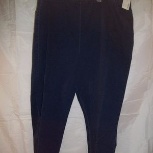 Catherines Everyday Fit Tapered Leg Jeans Size 4X