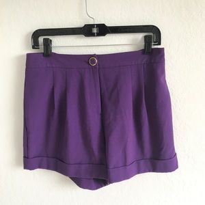 Forever21 Exclusive Purple Shorts