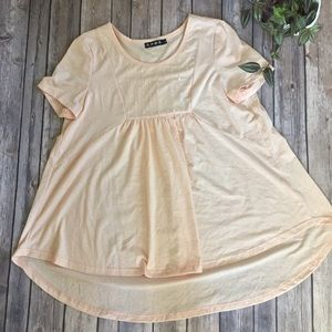Tops - Blush top NWOT