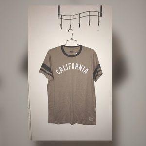 Hollister ringer California T-shirt