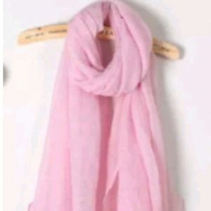 So Soft And long Pink 🐩 Scarf