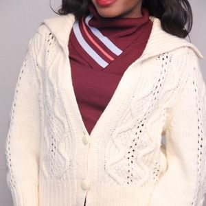 Ann Taylor Sweater Open-Front High-Low Cardigan
