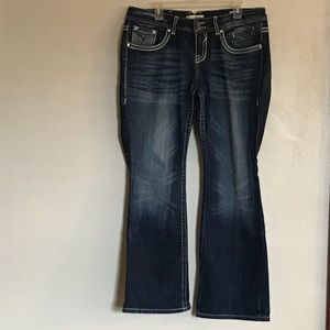 Vigoss Blue Jeans Boot Cut Size 16