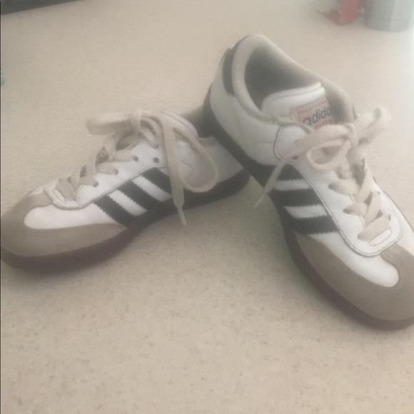 finest selection b3875 8017e ... picked up adidas Shoes Kids Samba Classic Sz 12 Youth Soccer Black  Poshmark e4135 50259 ...