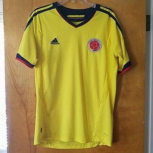 Adidas Colombia futbol jersey