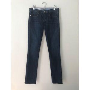 Gap 1969 Real Straight Dark 28 / 6L Woman's Jeans