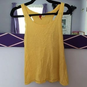 Yellow Divided H&M tank top