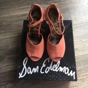 Sam Edelman wedges size 8