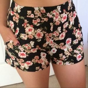 PacSun Floral Soft Shorts with Pockets