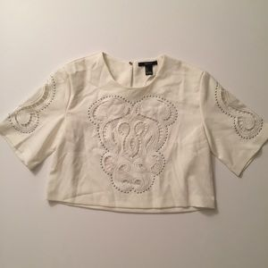 Like New forever 21 boxy crop-S