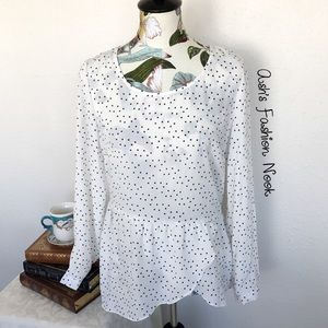💠Just in💠 ny collection-Polka Dot Blouse