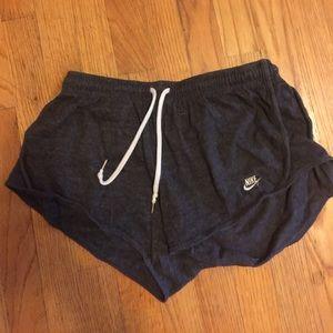 Nike knit shorts