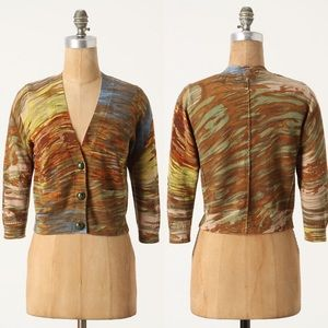 Anthropologie Hypsometric Tint Cardigan