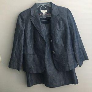 Ann Taylor Loft skirt/jacket suit size 6p