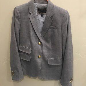 J.crew schoolboy blazer in gray