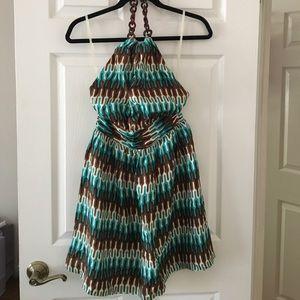 Milly Halter Dress. NWT