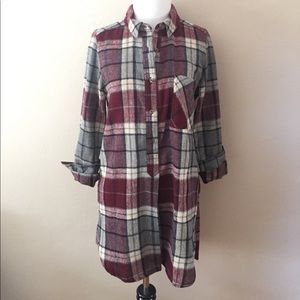 Forever 21 Flannel Tunic