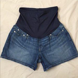 Gap Maternity Denim Shorts 1969 Slim Shorts 10r