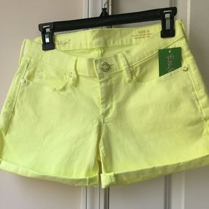 NWT Lilly Pulitzer Short Ocean Shorts SZ:4
