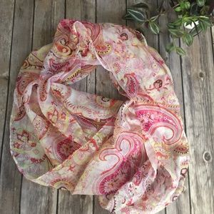 Accessories - Paisley silk scarf