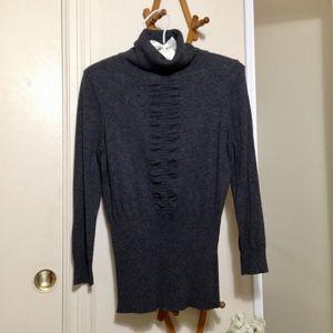 EXPRESS 3/4 Length Turtleneck Sweater